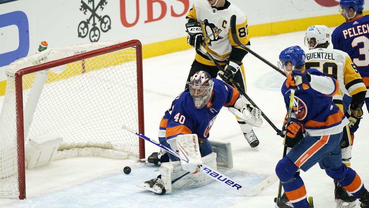Penguins top Islanders 4-3 on Crosby's shootout goal