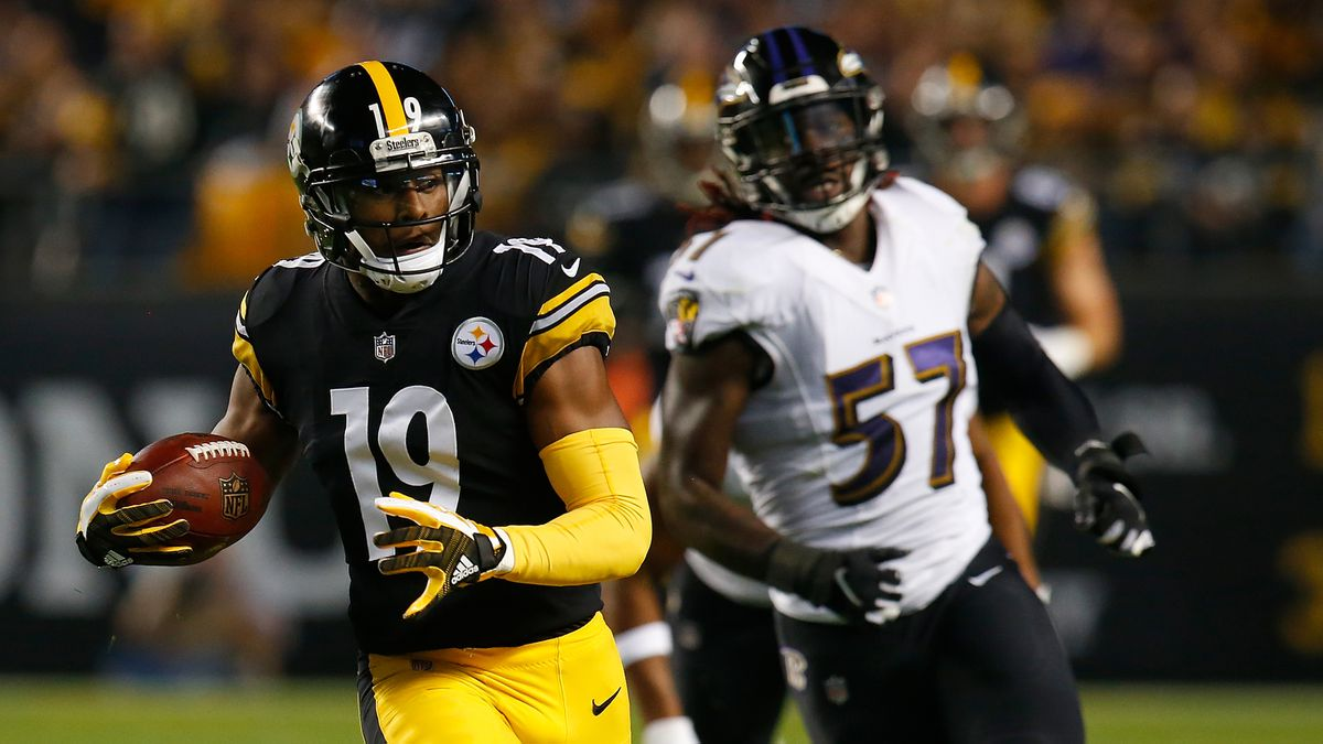 It's lit! Smith-Schuster steps into spotlight for Steelers