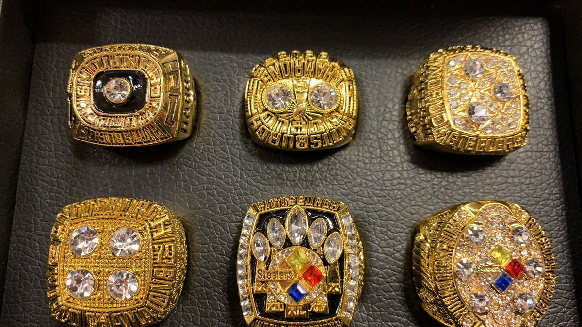 Counterfeit Steelers Super Bowl rings seized by federal authorities
