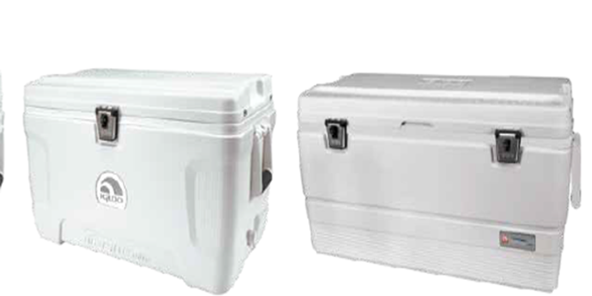 Igloo recalls 60,000 marine coolers over suffocation, entrapment risks