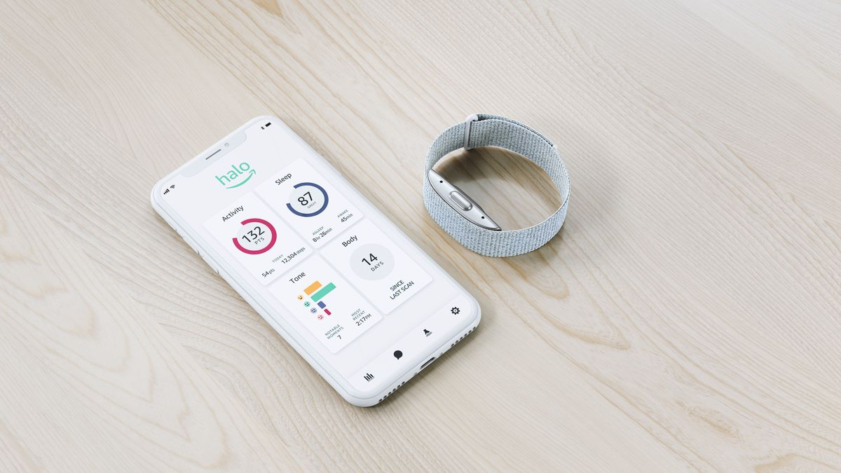 Not another fitness tracker: Amazon introduces Halo Band well-being device