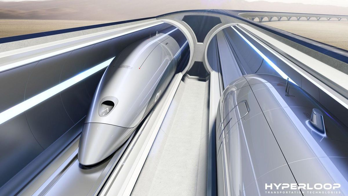 670-mph hyperloop from Ohio to Chicago moves closer with new regulations