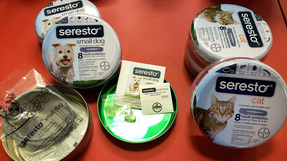 Agents seize counterfeit cat and dog flea collars