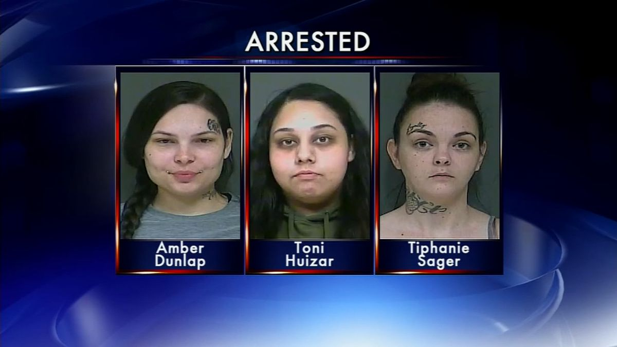Women arrested after taunting police officers on social media
