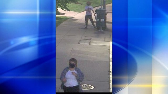 Pittsburgh police need help to identify man, woman who vandalized law enforcement memorial
