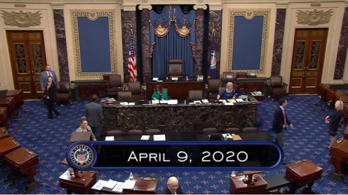 Senate gridlocks as Democrats block Trump $250 billion virus aid plan