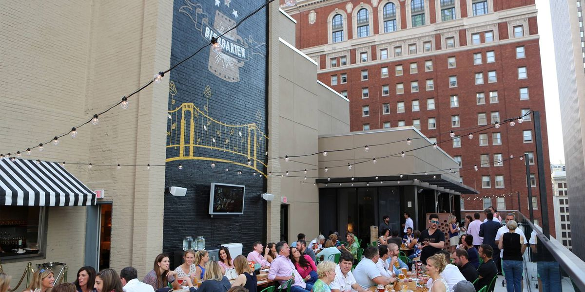 11 rooftop bars in Pittsburgh