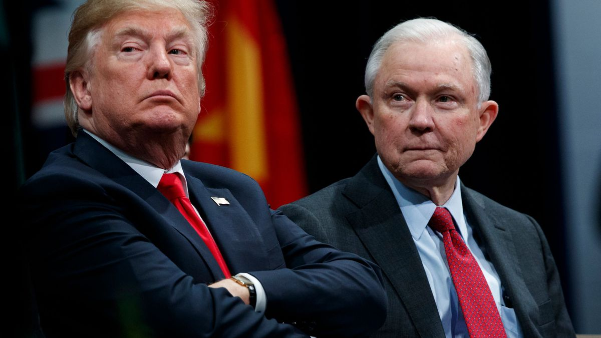 Why Trump doesn't just fire Attorney General Jeff Sessions. Yes, the Senate has something to do