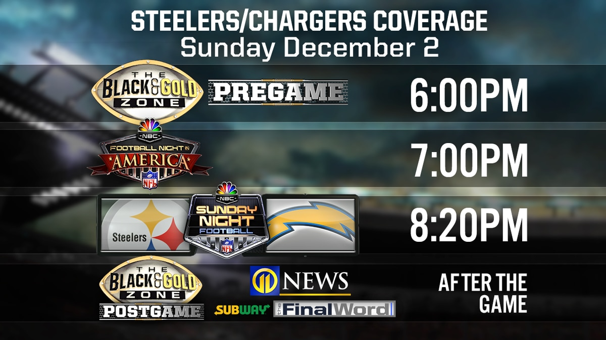 Pittsburgh Steelers vs Los Angeles Chargers: What time; how to watch