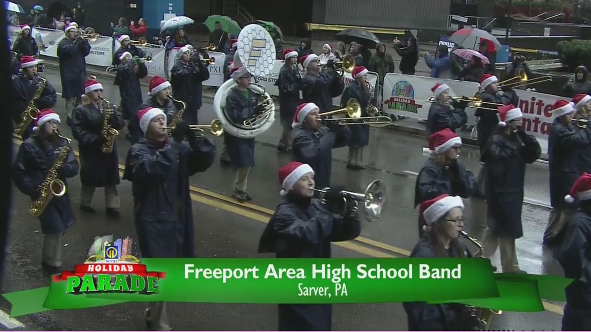 Check out the bands, mascots and animal groups in the 2019 WPXI Holiday Parade