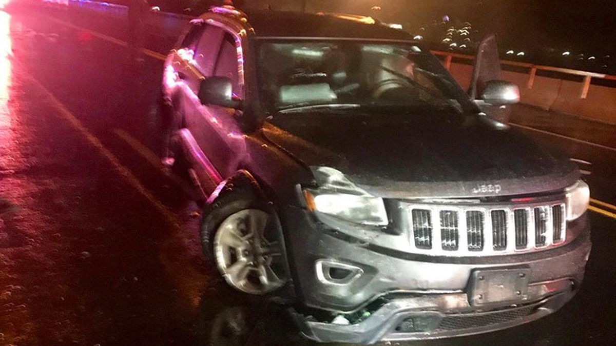 SUV found on bridge leads police to arrest 21-year-old woman