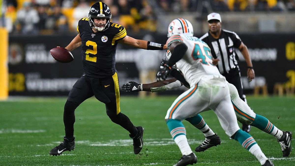 Exactly How Bad Has Mason Rudolph Been For The Steelers We Crunch