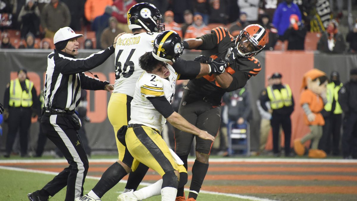 33 players disciplined by NFL for brawl between Steelers and Browns