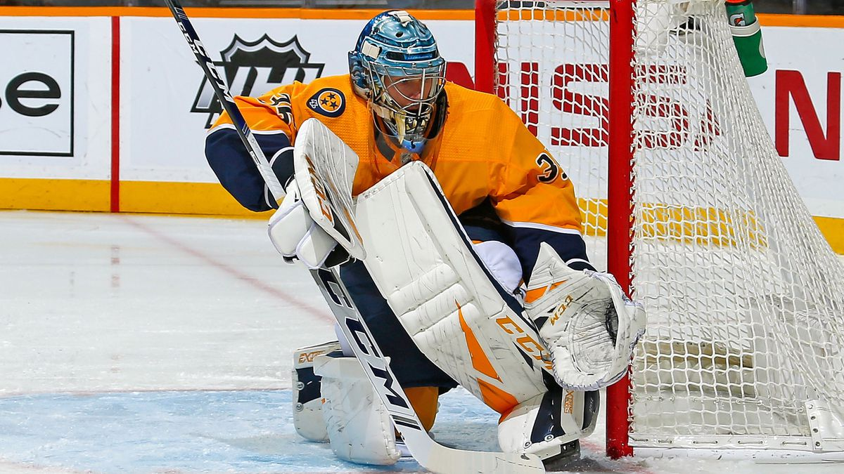 Rinne leads Predators to 3-1 win over Penguins