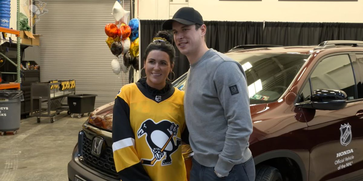 Sidney Crosby donates car he won as NHL All-Star Game MVP to local veteran