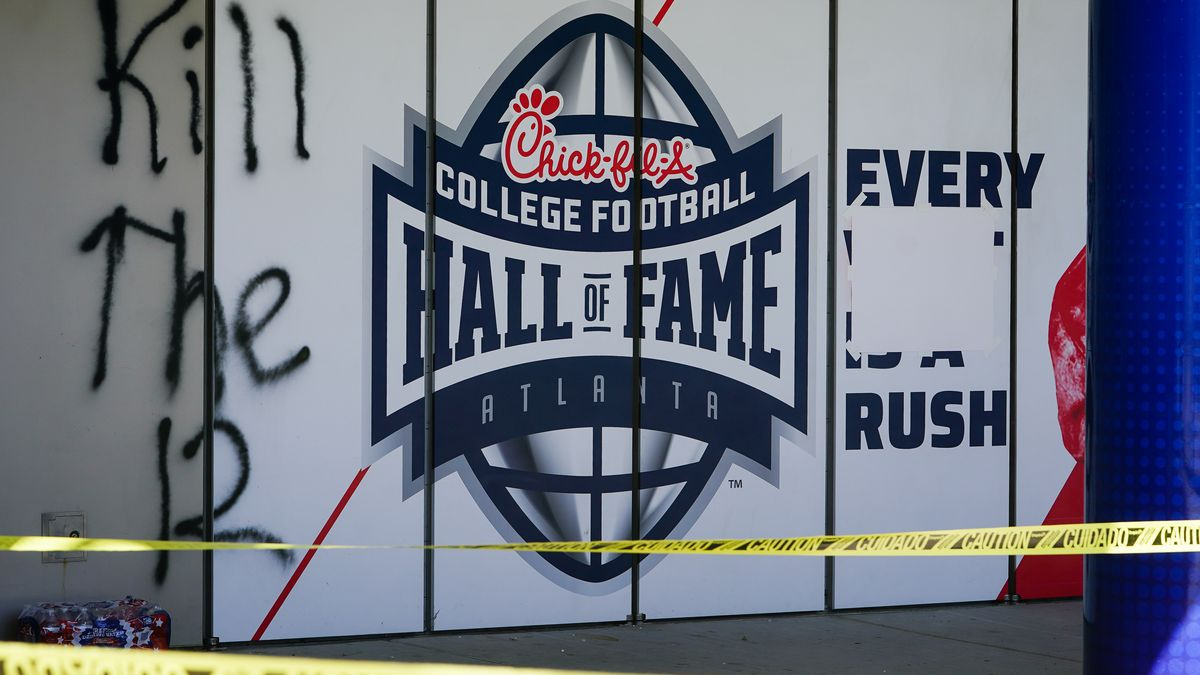 College Football Hall of Fame looted but no artifacts stolen from museum