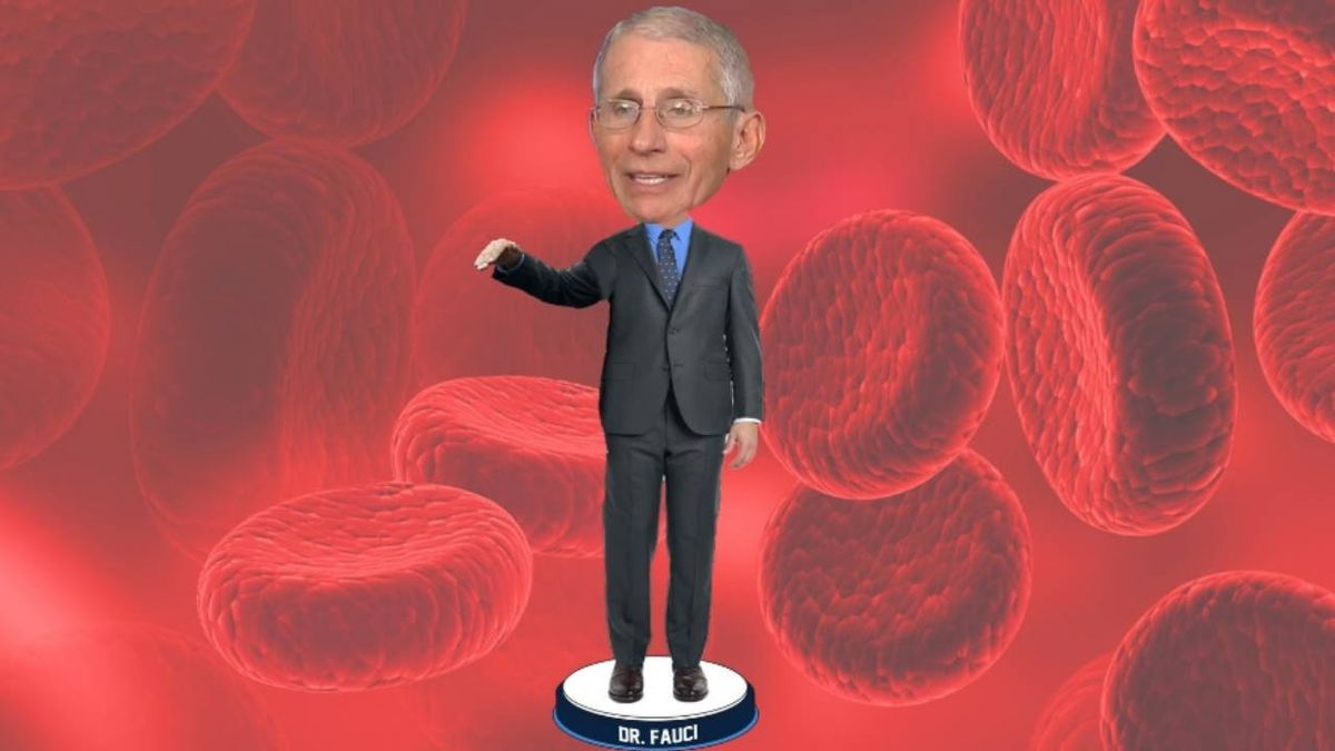 Coronavirus: Anthony Fauci bobbleheads will help raise funds for 100 Million Mask Challenge