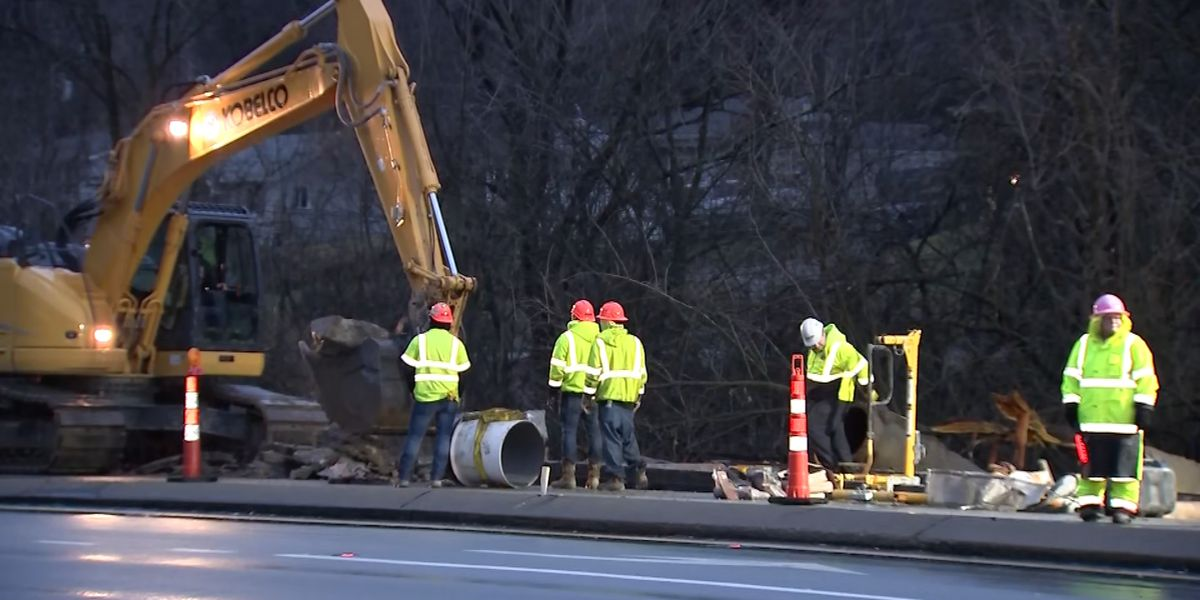 Fire department activating emergency plans after water main break on Rt. 19