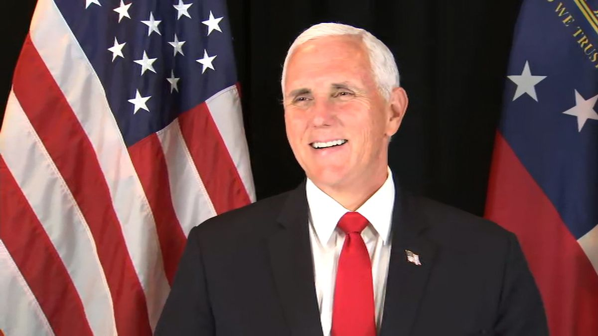 Vice President Pence and his wife test negative for COVID-19