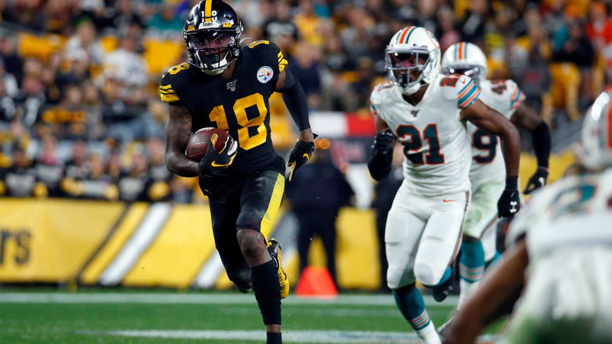 Steelers WR Diontae Johnson spotted training with AB on Instagram