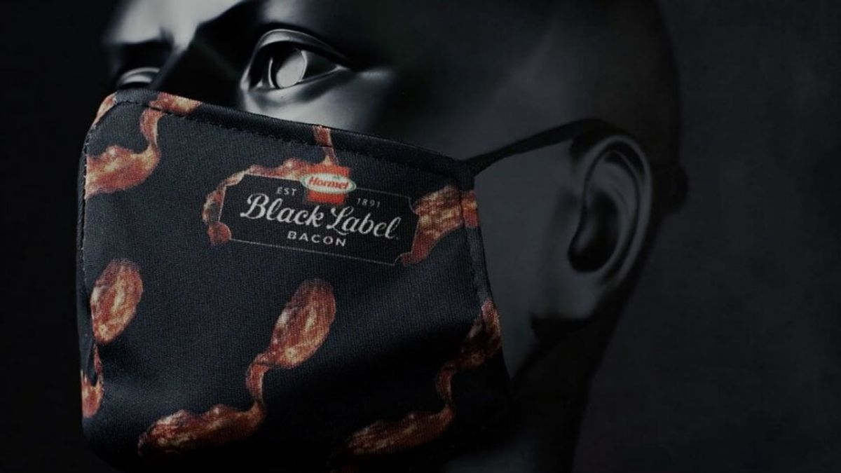Crisp deal: Hormel launches bacon-scented face mask giveaway