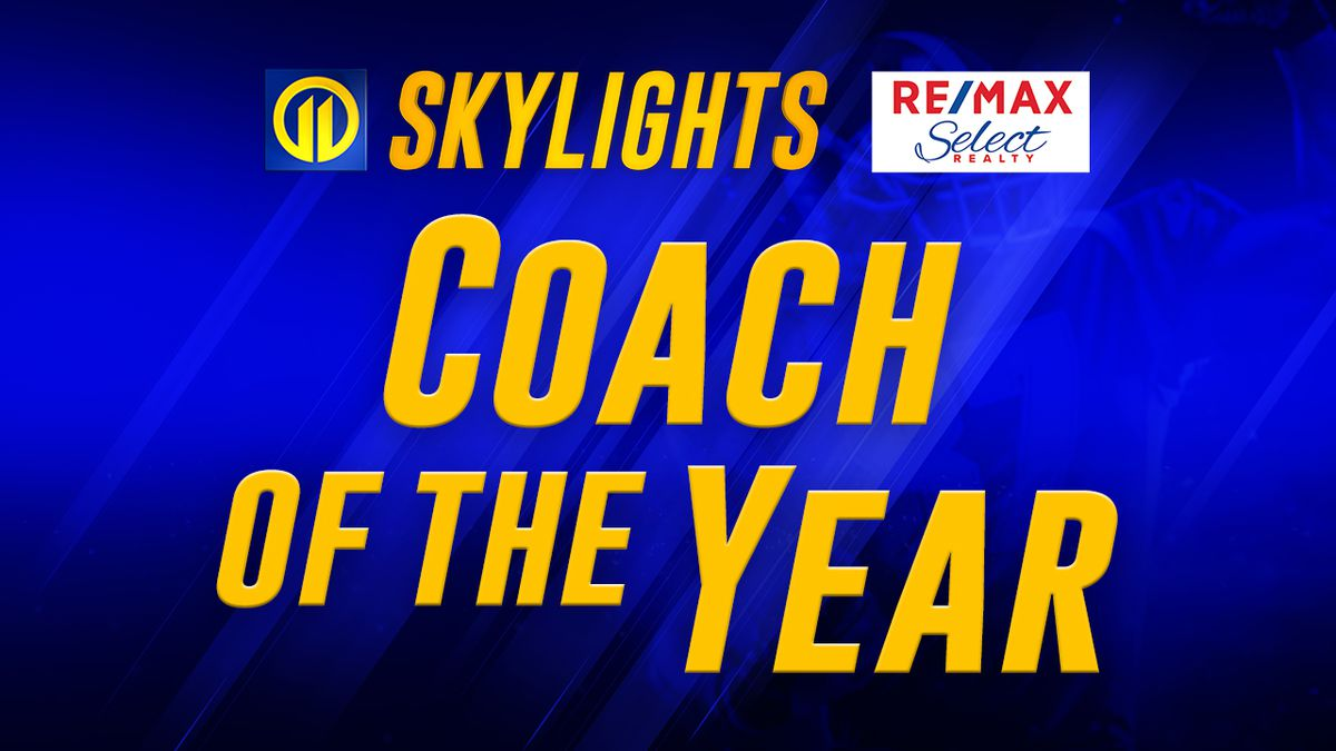 Marty Rieck wins 2020 Skylights Coach of the Year