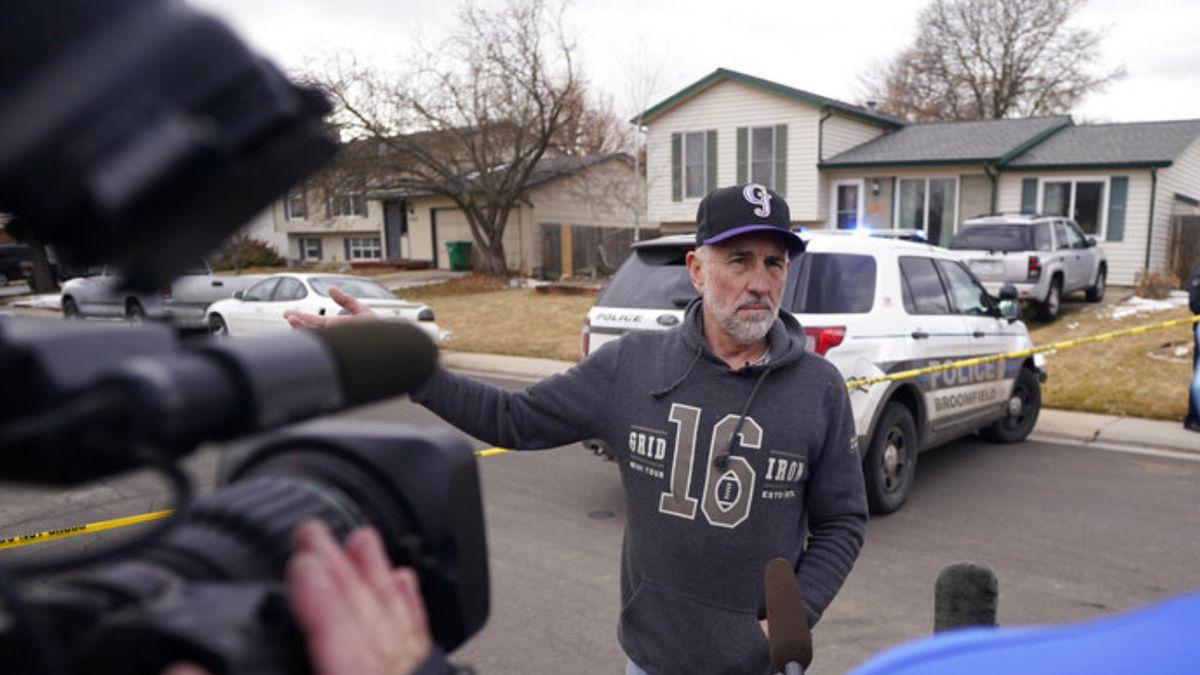 Colorado couple have narrow escape when huge chunk of plane's debris lands in yard