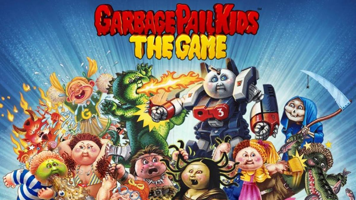 Garbage Pail Kids mobile game launched