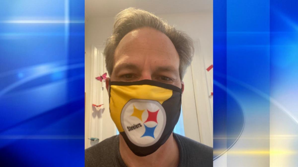 CNN anchor wears Steelers mask after losing bet to Lt. Gov. John Fetterman