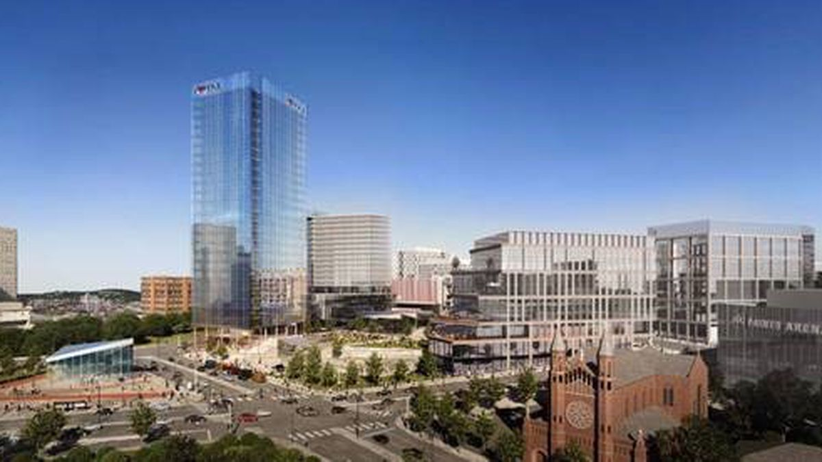 Buccini/Pollin Group establishes Pittsburgh office with $1 billion arena site redevelopment in the Lower Hill set to begin