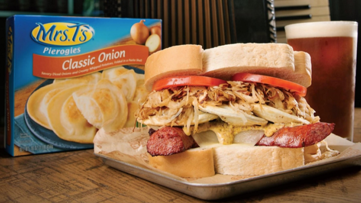 Primanti Bros., Mrs. T's Pierogies joining forces on new sandwich -- 'The Polish Hill'