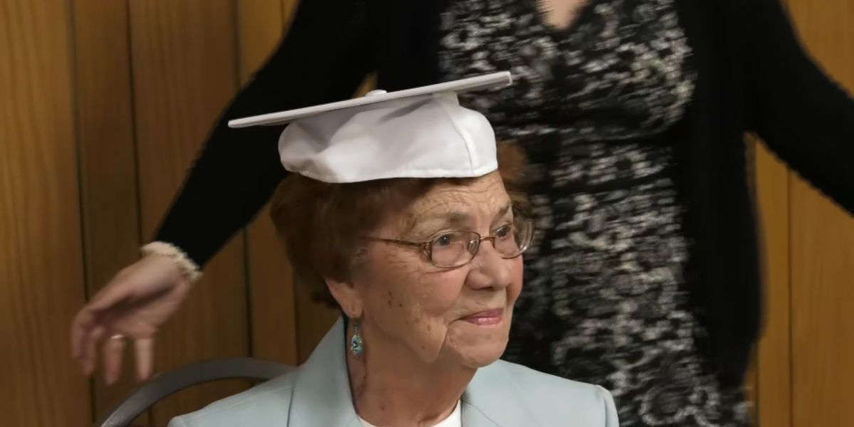 96-year-old Monessen woman receives high school diploma