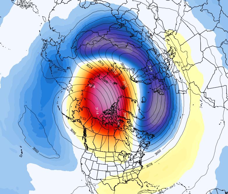 Weakening polar vortex may help lead to colder, snowier second half of January