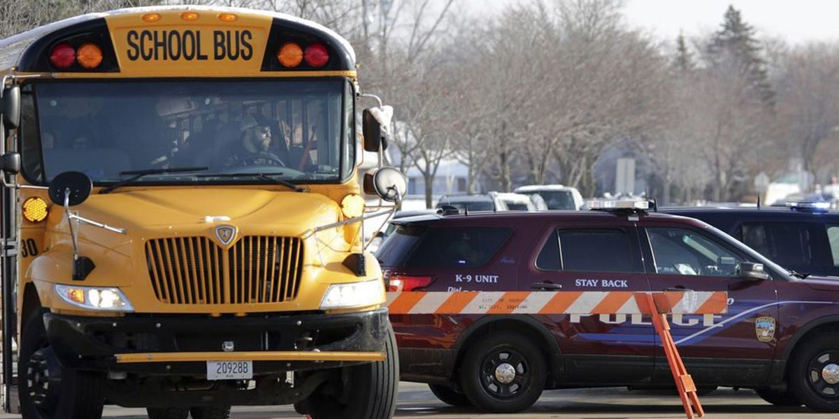 School resource officer stabbed before shooting student at Wisconsin high school, police say