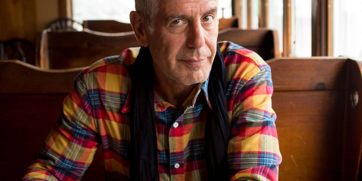 From the archives: Anthony Bourdain on having 'the best job in the world'