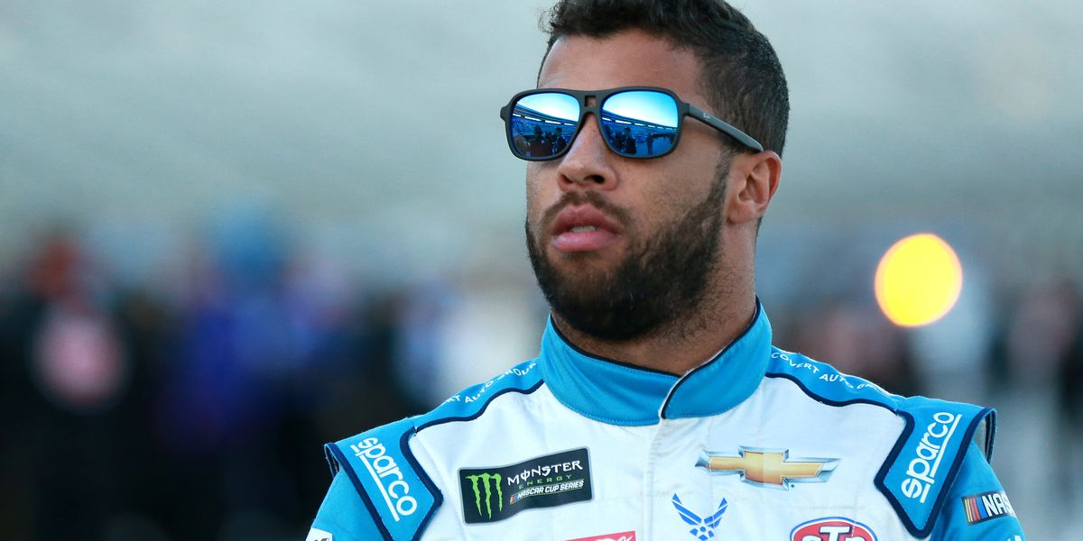 Bubba Wallace fined $50,000 by NASCAR for intentional spin