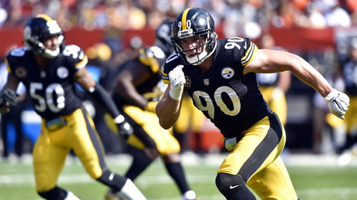 T.J. Watt to wear cleats designed by Pittsburgh artist for Monday's Steelers game