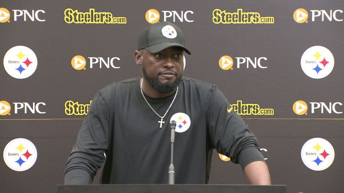 Tomlin: Brown absent from Monday practice, won't discuss tweet publicly