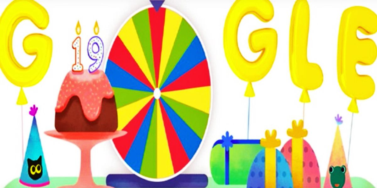 Google celebrates 19th birthday with 19 doodle games on homepage