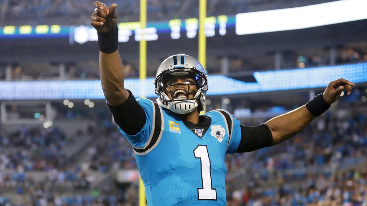 Cam Newton wins NFL's 'Man of the Year' charity challenge