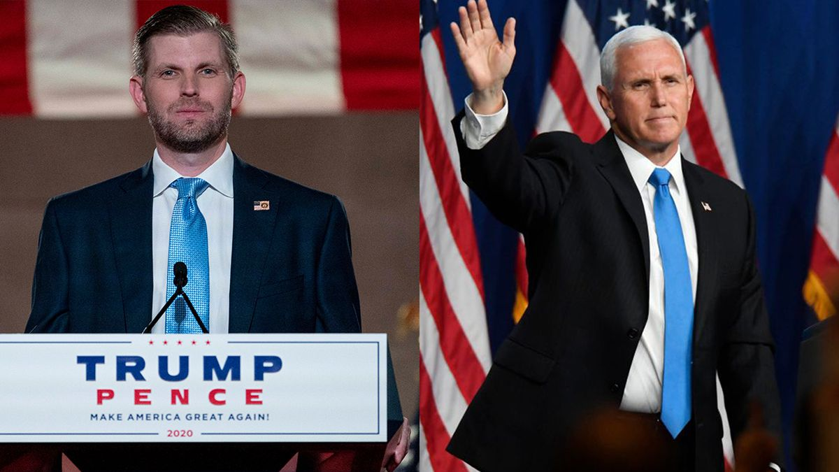 Eric Trump, Mike Pence making campaign stops in region