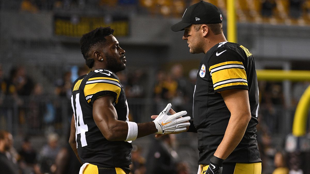 Report: Ben Roethlisberger criticized Antonio Brown in meetings, demanded he leave practice field