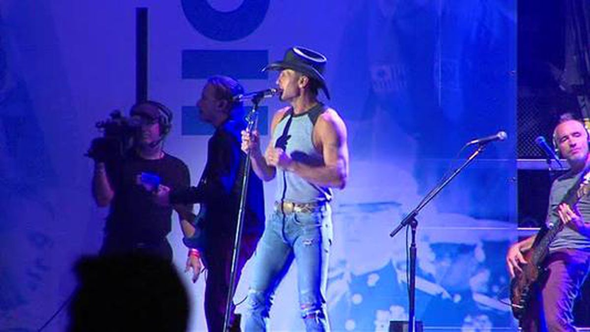 Saddle up: Tim McGraw will be rocking the Pittsburgh area this summer