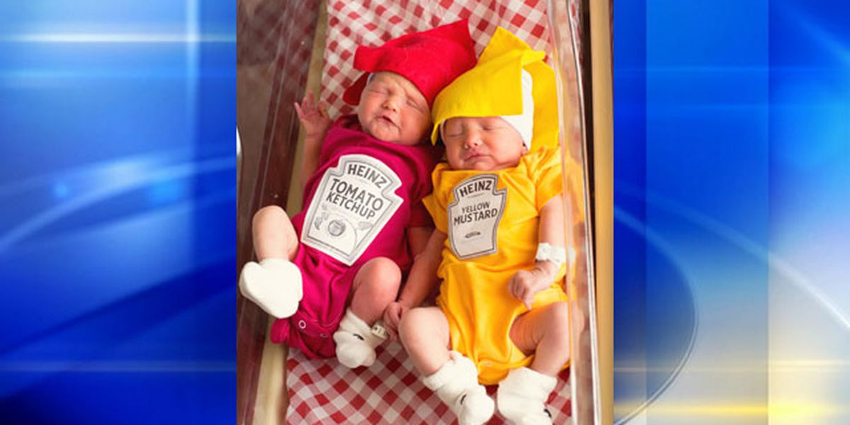 Twins born Memorial Day weekend at local hospital celebrated 'cookout style'