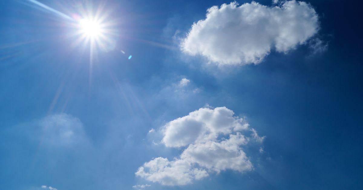 Sunshine, high temperatures in 60s Monday