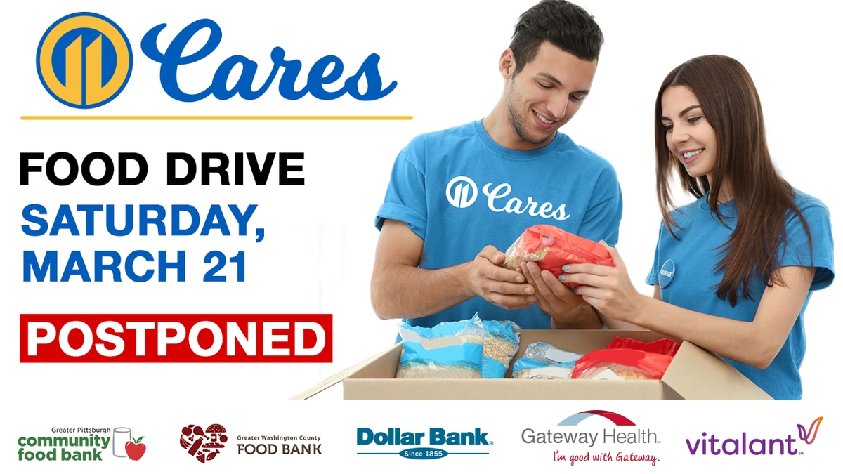 POSTPONED: Help your neighbors in need by donating at the 11 Cares Food Drive