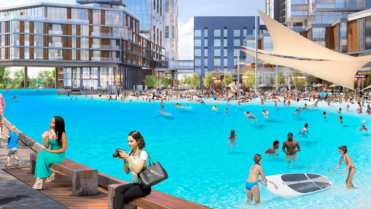 Developer planning to open lagoon on the North Side