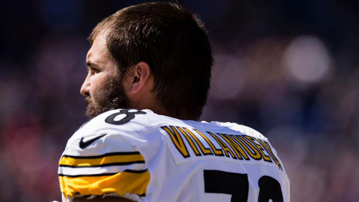 Despite the team standing united, Steelers' Villanueva honored a war veteran, not Antwon Rose