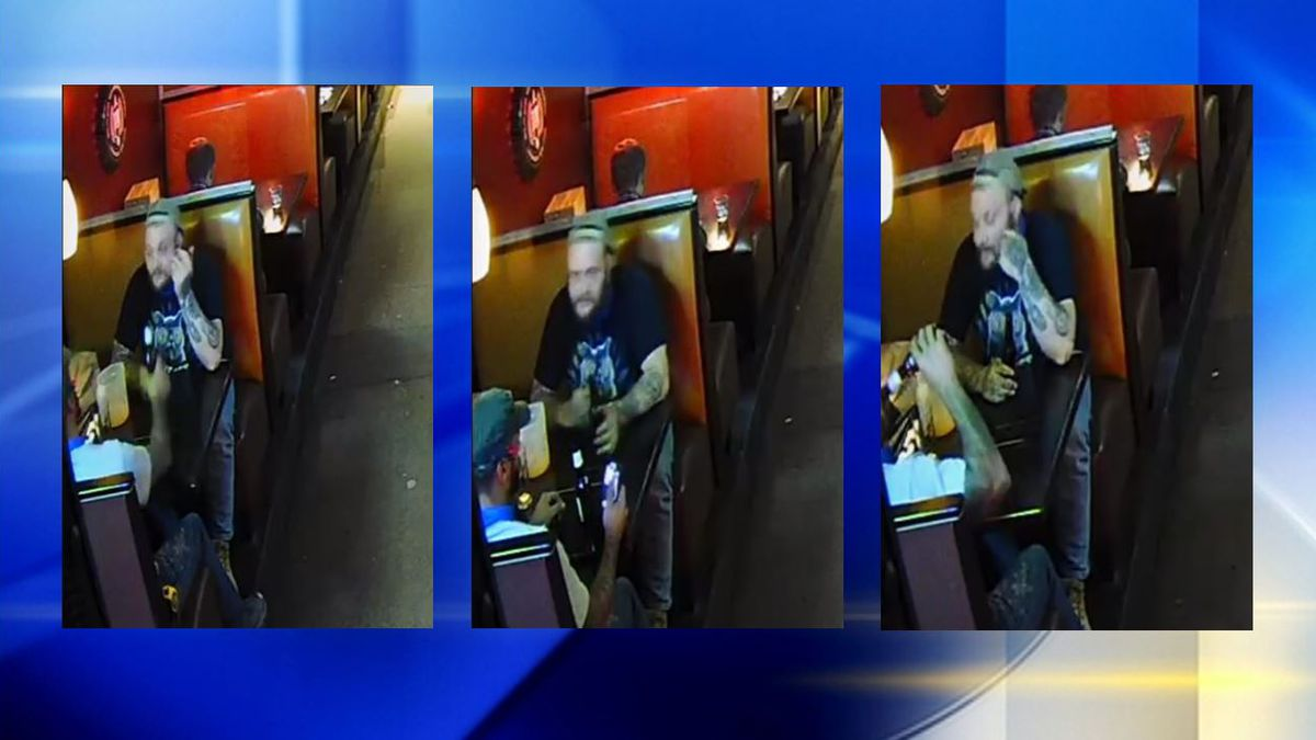 Random attack? Police looking for man who punched customer at local restaurant